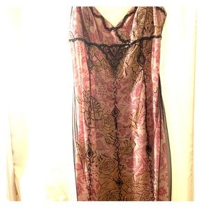 Adorable dress with lace and bead work